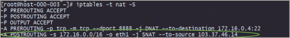 SNAT策略规则图3.0