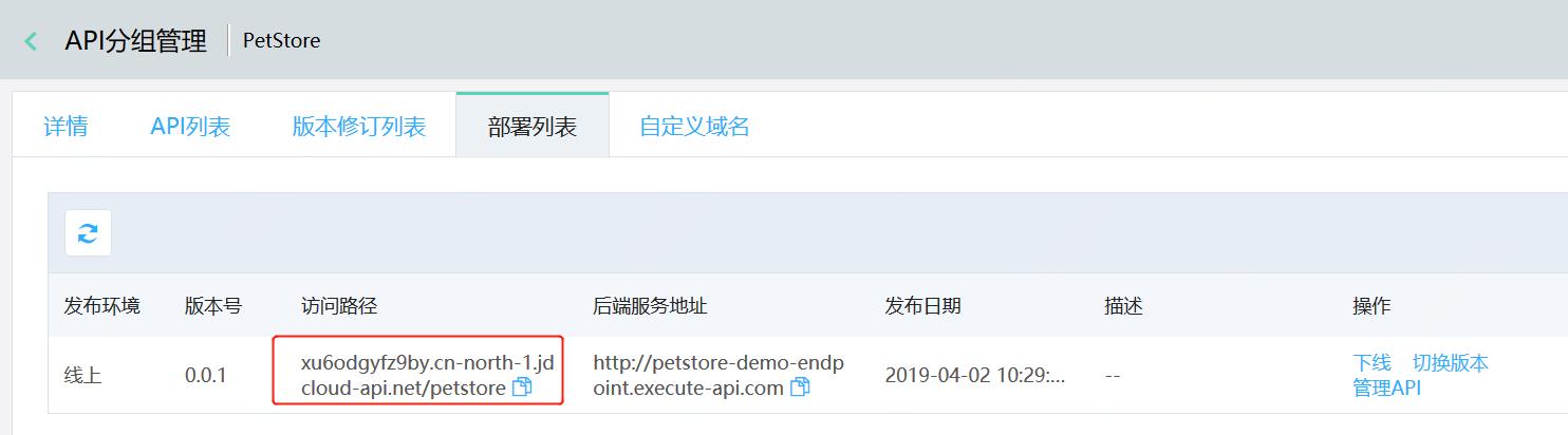 调用API2